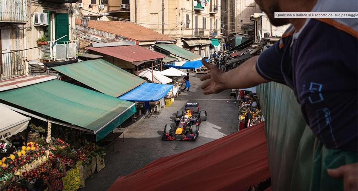 Palermo magnifica vista dalla red bull